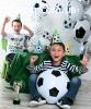 Букет з повітряних кульок Футбол.Київ