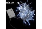 гирлянда внутр_DELUX_STRING С_100LED 5m белый/прозр IP20