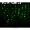гирлянда внеш_DELUX_ICICLE_120LED 2x0.9m зел/черн IP44 EN