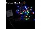 гирлянда внутр_DELUX_STRING С_100LED 5m мулт/черн IP20