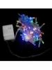 гирлянда внутр_DELUX_STRING С_200LED 10m мулт/прозр IP20