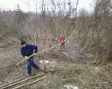 Розчищення ділянки під будівництво Вирубка дерев корчування